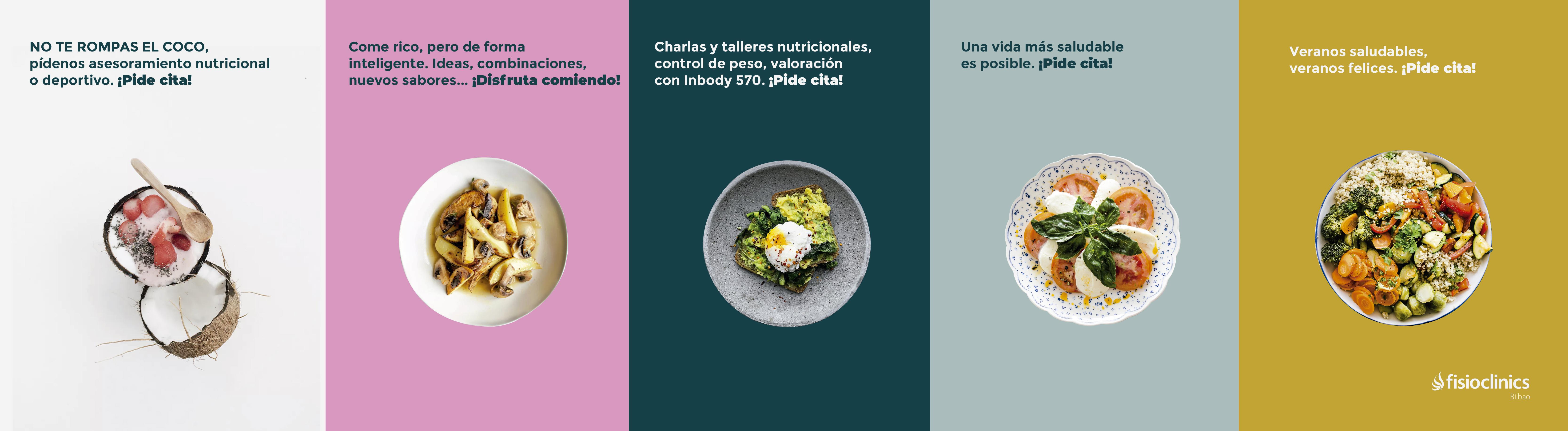 Veranos saludables, controla tu alimentación