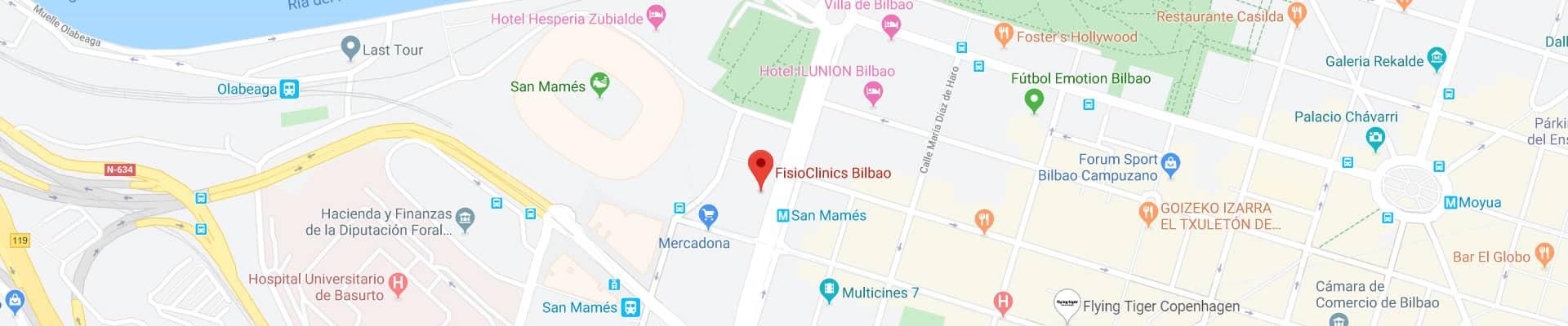 FisioClinics Bilbao
