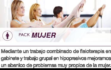 Pack mujer woman bilbao