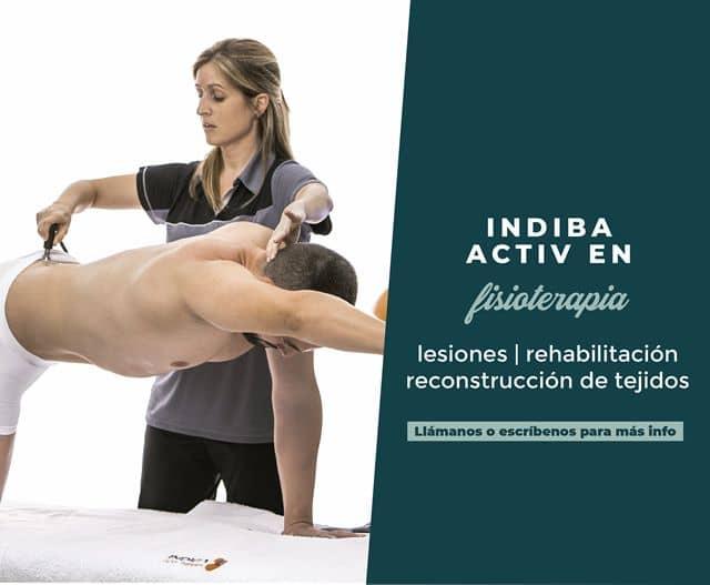 indiba activ en fisioterapia