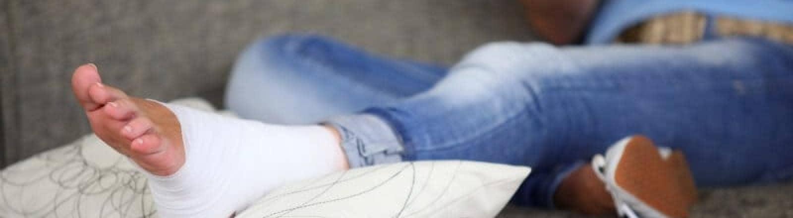 esguince o torcedura de tobillo