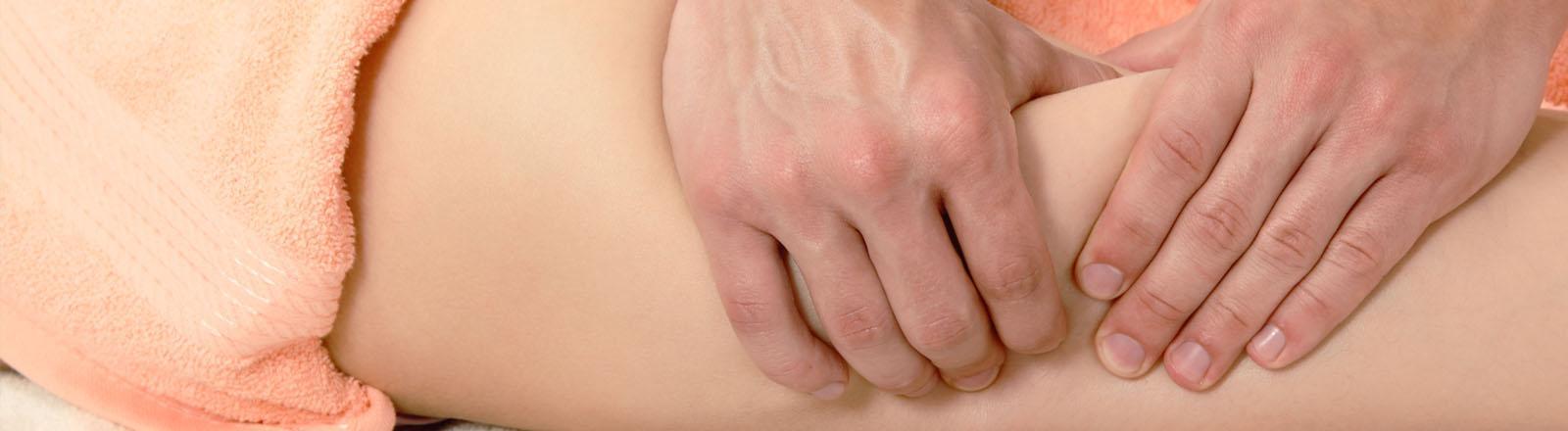 masaje terapéutico y quiromasaje