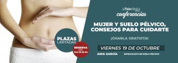 conferencia fisioclinics bilbao suelo pelvico mujer