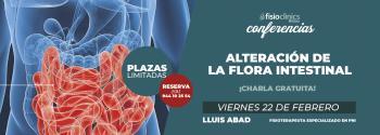 conferencia charla gratuita flora intestinal alteracion