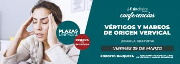 conferencia gratuita mareos y vertigos origen cervical