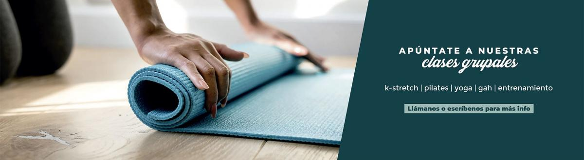 clases grupales pilates yoga kstretch gah fisioclinics bilbao