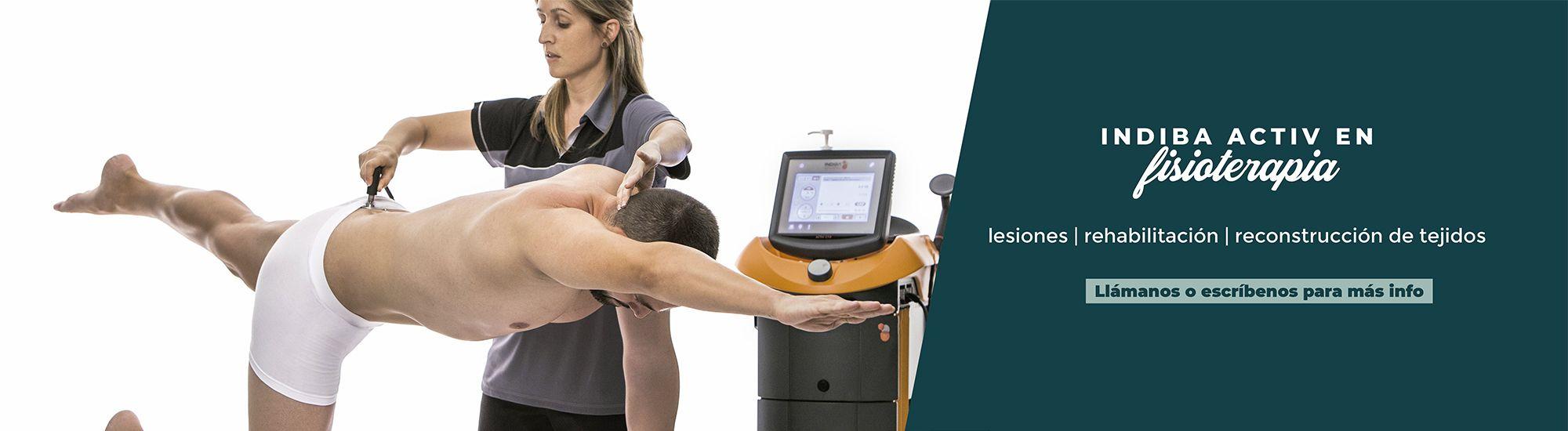 slider indiba activ fisioterapia fisioclinics bilbao
